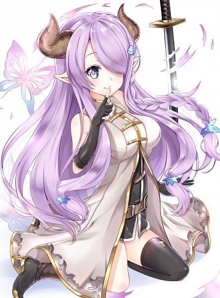 Tags: Anime, Pixiv Id 4439090, Granblue Fantasy, Narumeia (Granblue Fantasy), Mobile Wallpaper, PNG Conversion