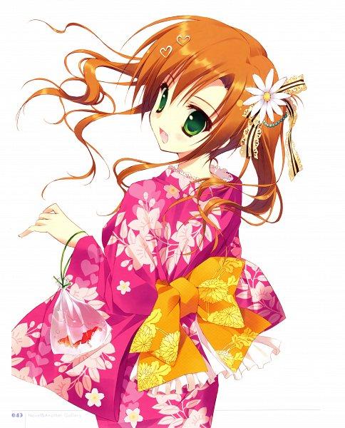 Tags: Anime, Ryohka, Hana x Hana, Kurimi, Narumiya Hana, Daisy (Flower), Scan, Official Art