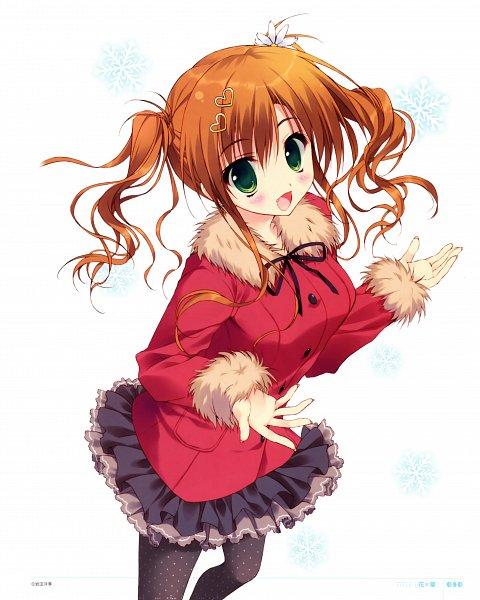 Tags: Anime, Ryohka, Hana x Hana, Kurimi, Narumiya Hana, Daisy (Flower), Spotted Legwear, Scan, Official Art
