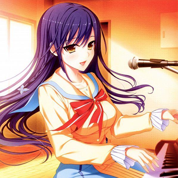 Tags: Anime, Akino Subaru, tone work's, Hoshi Ori Yume Mirai Artworks, Hoshi Ori Yume Mirai, Narusawa Rikka, Scan, Official Art