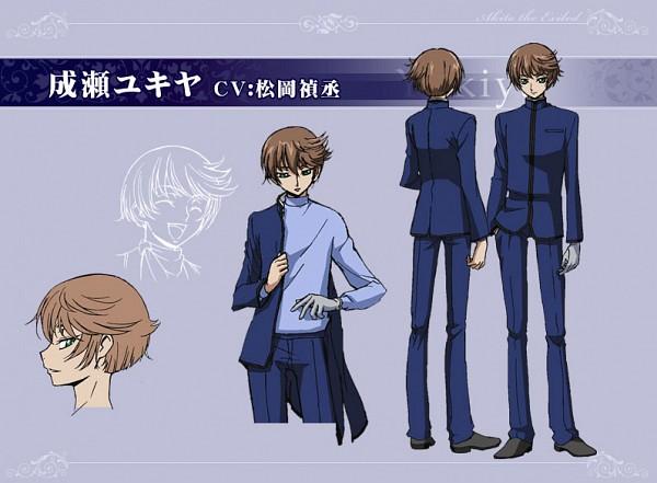 Naruse Yukiya - Code Geass: Boukoku no Akito