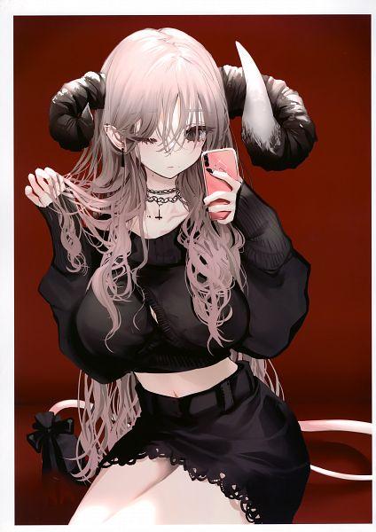 Tags: Anime, Naruwe, LILITICS CATALOG, Black Sweater, Comic Market, Scan, Comic Market 96
