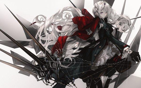 Tags: Anime, Naruwe, Purple Gem, Original, Pixiv