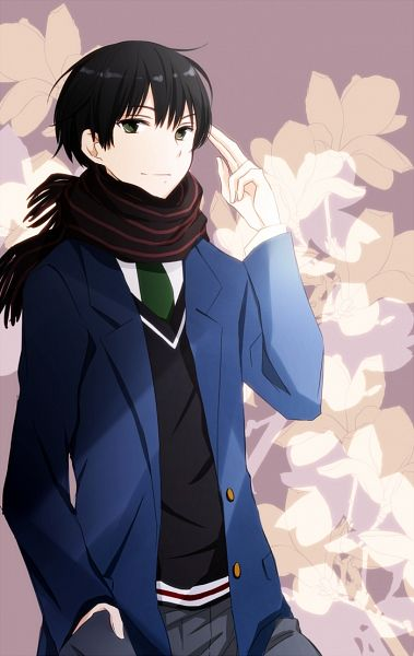 Tags: Anime, Tsukimori Usako, Kyoukai no Kanata, Nase Hiroomi, Mobile Wallpaper