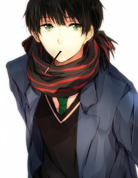 Tags: Anime, Secret-korea, Kyoukai no Kanata, Nase Hiroomi, Fanart From Pixiv, Pixiv, Fanart