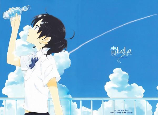 Tags: Anime, Akizuki Sorata, Natsu Yasumi Zero Zero Nichime, Balcony, Furoku, LaLa (Magazine) (Source), Scan, 00 Day Of Summer Holiday