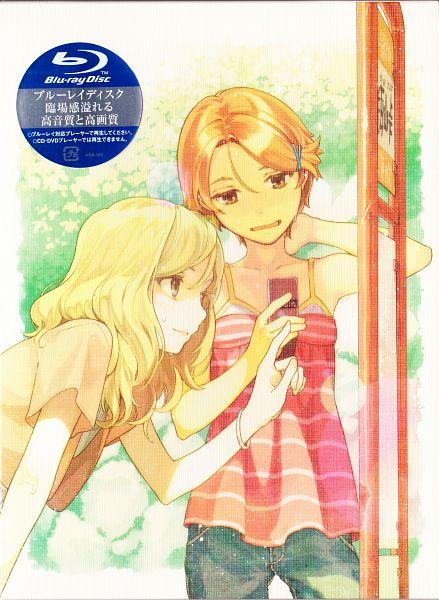 Tags: Anime, Hidari, Natsuiro Kiseki, Mizukoshi Saki, Aizawa Natsumi, Scan, DVD (Source), Official Art