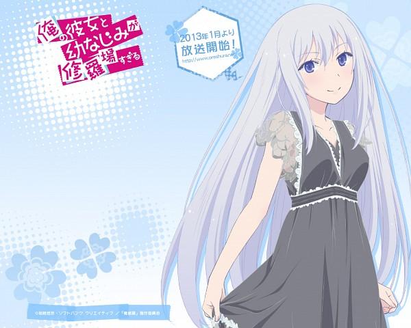 Tags: Anime, Ore no Kanojo to Osananajimi ga Shuraba Sugiru, Natsukawa Masuzu, Wallpaper, Official Art, Official Wallpaper