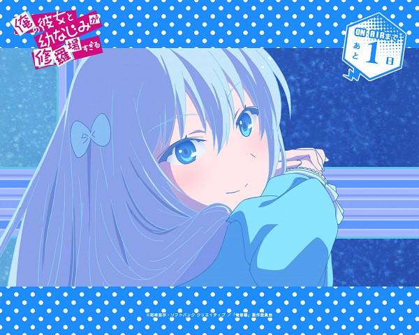 Tags: Anime, Ootsuka Mai, Ore no Kanojo to Osananajimi ga Shuraba Sugiru, Natsukawa Masuzu, Official Art, Official Wallpaper, Wallpaper