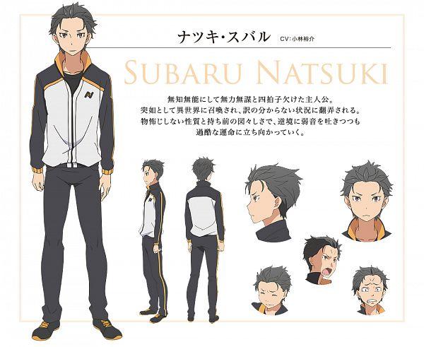 Natsuki Subaru - Re:Zero Kara Hajimeru Isekai Seikatsu