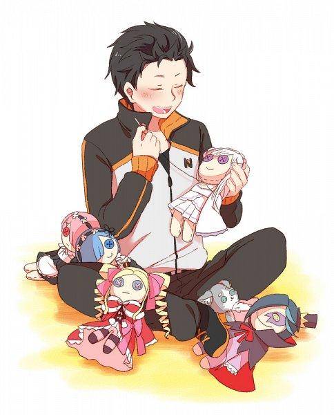 Tags: Anime, Pixiv Id 984468, Re:Zero Kara Hajimeru Isekai Seikatsu, Ram (Re:Zero), Pack (Re:Zero), Beatrice (Re:Zero), Roswaal L. Mathers, Emilia (Re:Zero), Rem (Re:Zero), Natsuki Subaru, Sewing, Fanart, Fanart From Pixiv
