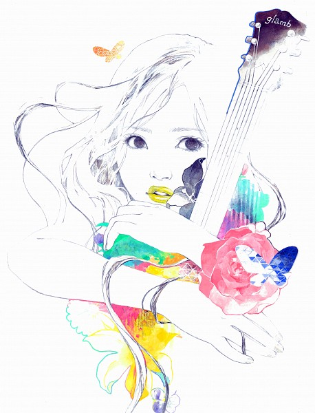 Tags: Anime, Natsuko Echizen, Yellow Lips, Original