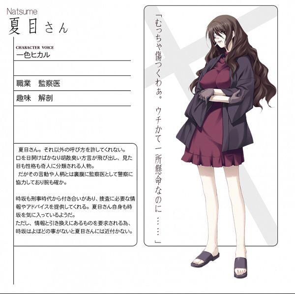 Natsume (Kara no Shoujo) - Kara no Shoujo