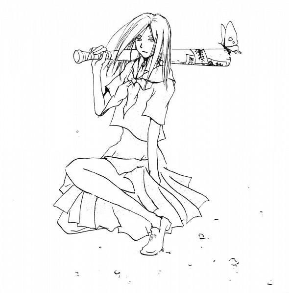 Tags: Anime, Yuki Midorikawa, Natsume Yuujinchou, Natsume Reiko, Official Art