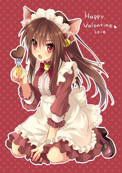 Tags: Anime, Sakura Neko, Little Busters!, Natsume Rin, Mobile Wallpaper