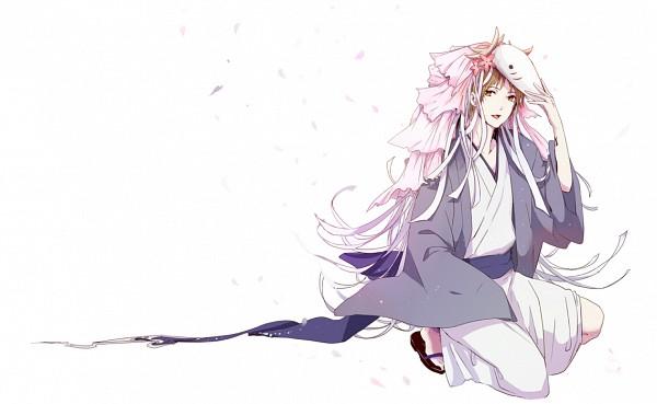 Tags: Anime, Pixiv Id 94282, Natsume Yuujinchou, Natsume Takashi, Deer Mask, Houzukigami (Cosplay), Pixiv