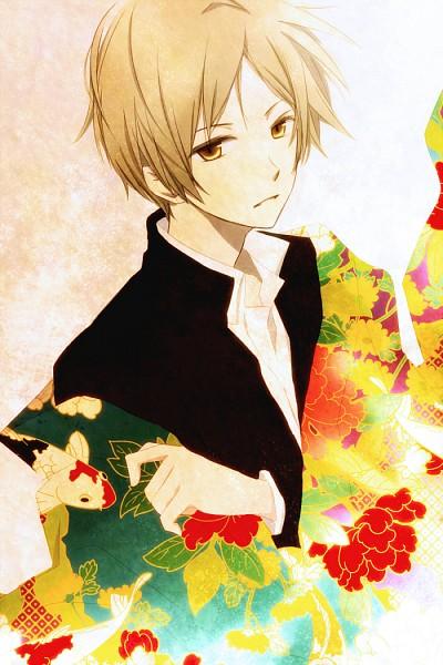 Tags: Anime, Tsukimori Usako, Natsume Yuujinchou, Natsume Takashi, Mobile Wallpaper, Pixiv, Fanart From Pixiv, PNG Conversion, Fanart