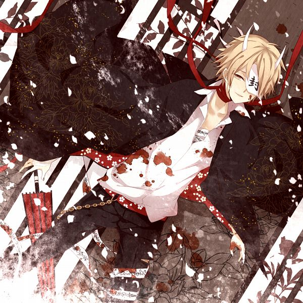 Tags: Anime, Moco 315, Natsume Yuujinchou, Natsume Takashi, Closed Umbrella, Pixiv, Fanart