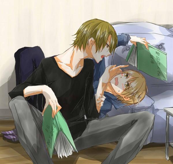 Tags: Anime, Pixiv Id 1475547, Natsume Yuujinchou, Natsume Takashi, Natori Shuuichi, Pixiv, Natsume's Book Of Friends