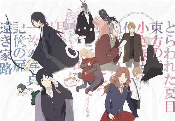 Tags: Anime, Okazaki Oka, Natsume Yuujinchou, Tanuma Kaname, Houzukigami, Miya (Natsume Yuujinchou), Hiiragi (Natsume Yuujinchou), Natsume Takashi, Yobiko (Natsume Yuujinchou), Matoba Seiji, Nyanko-sensei, Nanase (Natsume Yuujinchou), Natori Shuuichi, Natsume's Book Of Friends