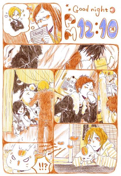 Tags: Anime, Pixiv Id 3392827, Natsume Yuujinchou, Natsume Takashi, Ushikao No Chuukyuu Youkai, Taki Tooru, Nyanko-sensei, Hitotsume No Chuukyuu Youkai, Nishimura Satoru, Benio (Natsume Yuujinchou), Kitamoto Atsushi, Tanuma Kaname, Sasada Jun, Natsume's Book Of Friends