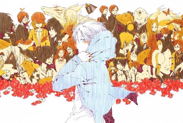 Tags: Anime, Pixiv Id 3392827, Natsume Yuujinchou, Matoba Seiji, Ushikao No Chuukyuu Youkai, Kogitsune, Hiiragi (Natsume Yuujinchou), Fujiwara Shigeru, Natori Shuuichi, Hitotsume No Chuukyuu Youkai, Gen (Natsume Yuujinchou), Natsume Reiko, Taki Tooru, Natsume's Book Of Friends