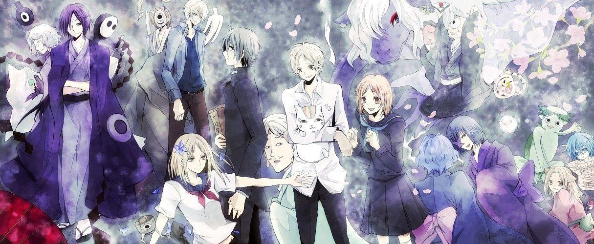 Tags: Anime, Pixiv Id 704663, Natsume Yuujinchou, Natsume Takashi, Hiiragi (Natsume Yuujinchou), Natori Shuuichi, Ushikao No Chuukyuu Youkai, Nyanko-sensei, Taki Tooru, Tanuma Kaname, Hitotsume No Chuukyuu Youkai, Nanase (Natsume Yuujinchou), Kogitsune, Natsume's Book Of Friends