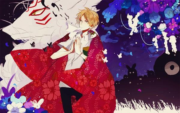 Tags: Anime, Kite-mitiko, Natsume Yuujinchou, Natsume Takashi, Nyanko-sensei, Madara, PNG Conversion, Natsume's Book Of Friends