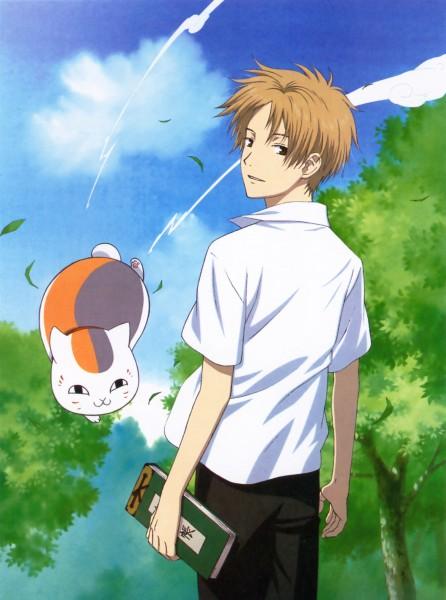 Tags: Anime, Natsume Yuujinchou, Natsume Takashi, Nyanko-sensei, Official Art, Natsume's Book Of Friends