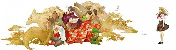 Tags: Anime, Kai Shizimi, Natsume Yuujinchou, Natsume Takashi, Nyanko-sensei, Kappa (Natsume Yuujinchou), Madara, Misuzu (Natsume Yuujinchou), Kogitsune, Ushikao No Chuukyuu Youkai, Natsume Reiko, Hitotsume No Chuukyuu Youkai, Kappa, Natsume's Book Of Friends
