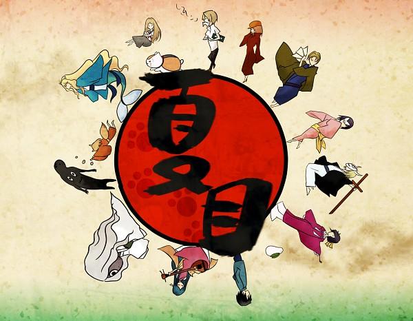 Tags: Anime, Nikon, Natsume Yuujinchou, Kogitsune, Nyanko-sensei, Taki Tooru, Natsume Reiko, Hishigaki, Benio (Natsume Yuujinchou), Hinoe (Natsume Yuujinchou), Tanuma Kaname, Natsume Takashi, Hiiragi (Natsume Yuujinchou), Natsume's Book Of Friends