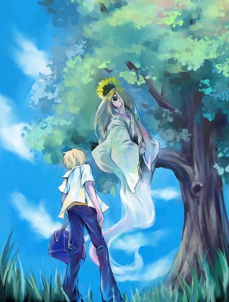 Tags: Anime, Pixiv Id 2994320, Natsume Yuujinchou, Natsume Takashi, Character Request, Pixiv, Fanart, Natsume's Book Of Friends