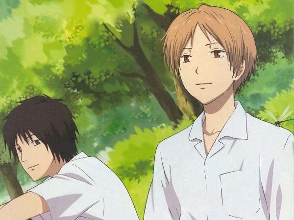 Tags: Anime, Natsume Yuujinchou, Natsume Takashi, Tanuma Kaname, Official Art, Natsume's Book Of Friends