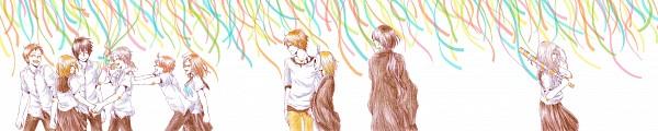 Tags: Anime, Pixiv Id 3392827, Natsume Yuujinchou, Kitamoto Atsushi, Natsume Takashi, Sasada Jun, Matoba Seiji, Hiiragi (Natsume Yuujinchou), Natori Shuuichi, Taki Tooru, Tanuma Kaname, Nishimura Satoru, Natsume Reiko, Natsume's Book Of Friends