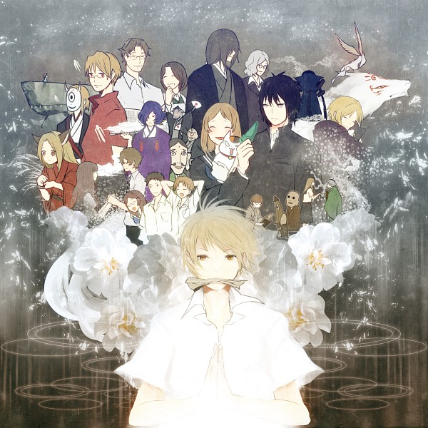 Tags: Anime, Hiko Lg612, Natsume Yuujinchou, Natori Shuuichi, Fujiwara Touko, Hiiragi (Natsume Yuujinchou), Tanuma Kaname, Hitotsume No Chuukyuu Youkai, Natsume Takashi, Taki Tooru, Nanase (Natsume Yuujinchou), Madara, Hinoe (Natsume Yuujinchou), Natsume's Book Of Friends