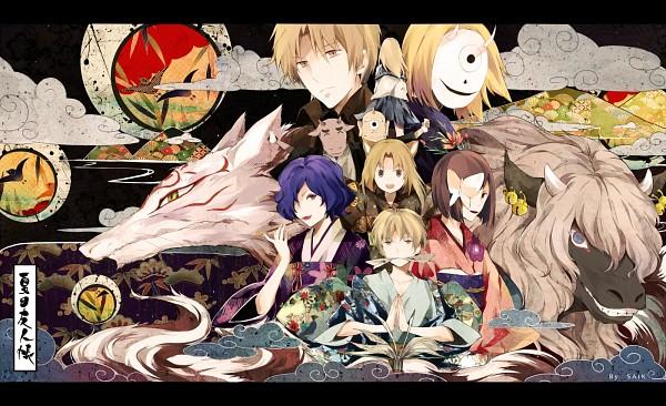 Tags: Anime, Pixiv Id 3642377, Natsume Yuujinchou, Hinoe (Natsume Yuujinchou), Natsume Reiko, Misuzu (Natsume Yuujinchou), Hiiragi (Natsume Yuujinchou), Natsume Takashi, Ushikao No Chuukyuu Youkai, Natori Shuuichi, Hitotsume No Chuukyuu Youkai, Madara, Benio (Natsume Yuujinchou), Natsume's Book Of Friends