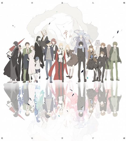 Tags: Anime, Okazaki Oka, Natsume Yuujinchou, Matoba Seiji, Fujiwara Touko, Hiiragi (Natsume Yuujinchou), Natori Shuuichi, Ishio Kai, Natsume Takashi, Taki Tooru, Tanuma Kaname, Ushikao No Chuukyuu Youkai, Nyanko-sensei, Natsume's Book Of Friends