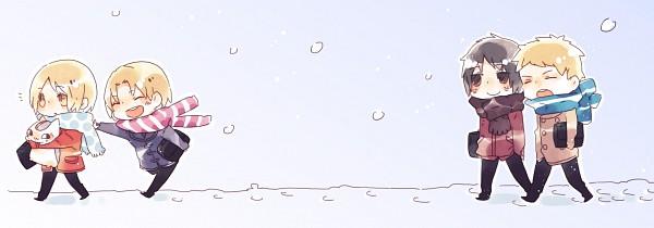Tags: Anime, Pixiv Id 3323811, Natsume Yuujinchou, Tanuma Kaname, Natsume Takashi, Nyanko-sensei, Kitamoto Atsushi, Nishimura Satoru, Fanart, Twitter Header, Pixiv, Natsume's Book Of Friends