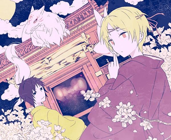 Tags: Anime, Pixiv Id 3390462, Natsume Yuujinchou, Tanuma Kaname, Madara, Natsume Takashi, Natsume's Book Of Friends