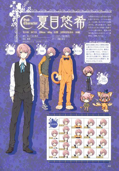 Tags: Anime, Sumihey, TAKUYO, Shinigami to Shoujo Official Picture Book, Shinigami to Shoujo, Natsume Yuuki, Official Art, Character Sheet, Scan