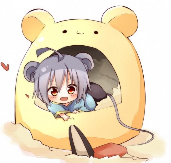 Tags: Anime, Aya Usagi, Touhou, Nazrin, Seeds