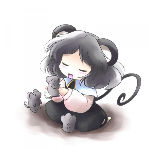 Tags: Anime, Yume Shokunin, Touhou, Nazrin, Pixiv
