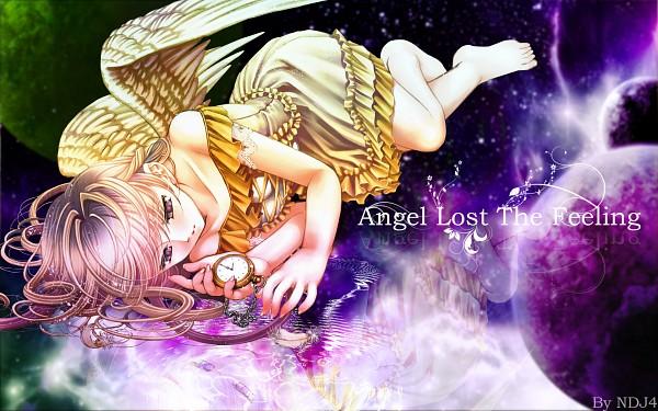 Tags: Anime, Ndj4, Plastic Moon, Pixiv, Wallpaper