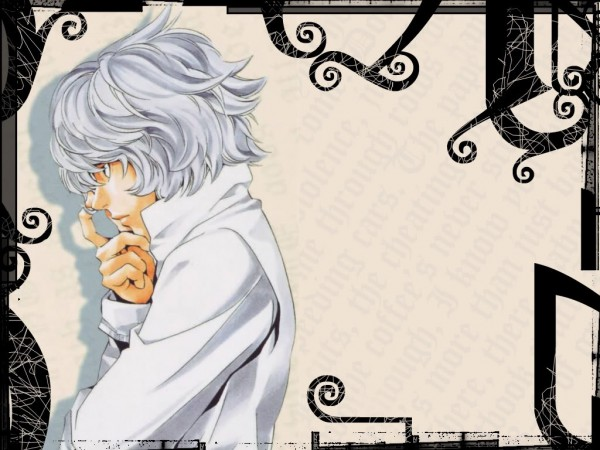 Tags: Anime, DEATH NOTE, Near, Wallpaper, Fanmade Wallpaper, Edited