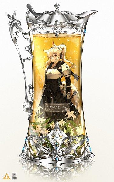 Tags: Anime, Pixiv Id 25295189, Arknights, Nearl, Umamimi, In a Bottle, Pixiv, Fanart, Fanart From Pixiv