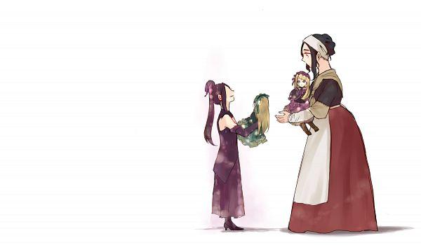 Tags: Anime, Pixiv Id 5843873, Violette, Hortense, Maman (Sound Horizon), Michèle Malebranche, Fanart, Nein (Sound Horizon), Fanart From Pixiv, Pixiv, Sound Horizon