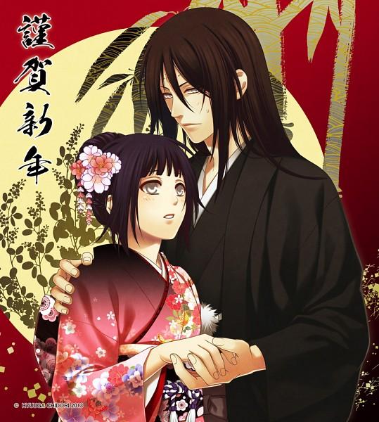 Tags: Anime, Hyuuga Chidori, NARUTO, Hyuuga Neji, Hyuuga Hinata, Cousins, Fanart From Pixiv, Fanart, Pixiv, NejiHina, Hyuuga Family