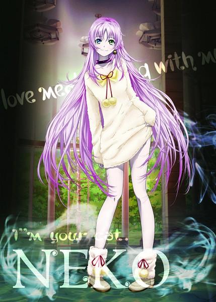Tags: Anime, GoHands, K Project, Neko (K Project), Official Art, Mobile Wallpaper