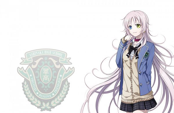 Tags: Anime, IDEA FACTORY, K Project, Gakuen K -Wonderful School Days-, Neko (K Project), PNG Conversion, Official Art