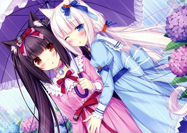 Tags: Anime, Sayori, NEKO PARADISE 2014 Calendar, Neko Para, Vanilla (Neko Para), Chocola (Neko Para), Original, Calendar 2014, Comic Market 85, Scan